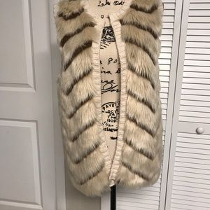 Love on a Hanger Fur Vest